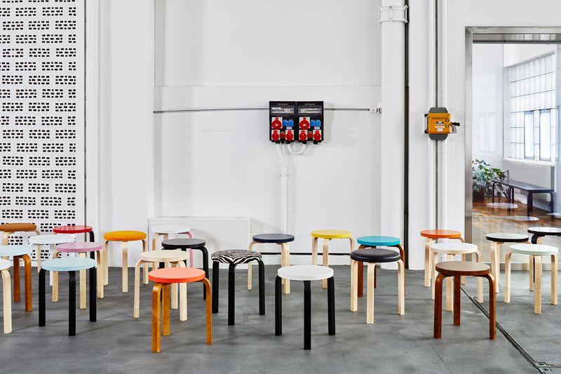 scandinavian design stools