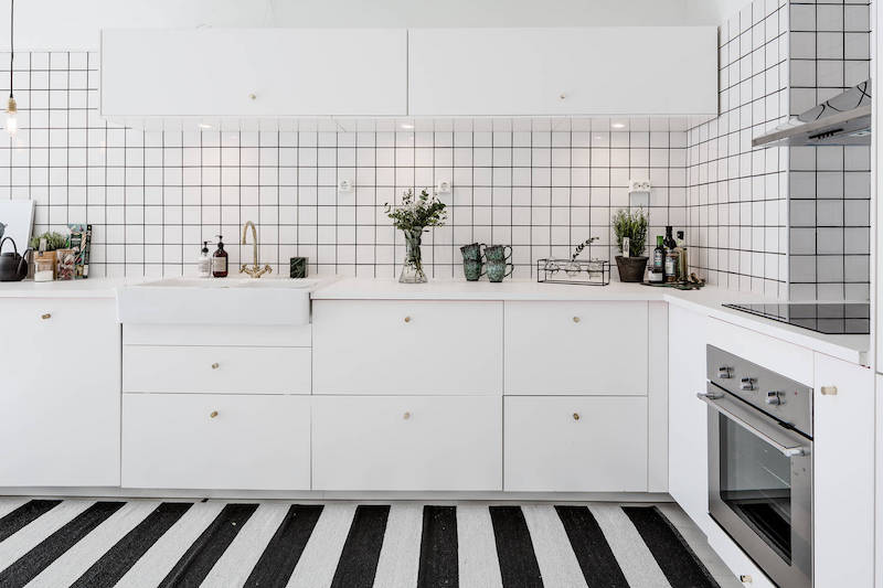 scandinavian design kitchen cabinets