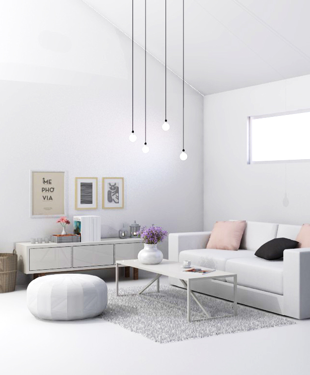 scandinavian design living room 2