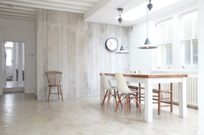 scandinavian design open dining room