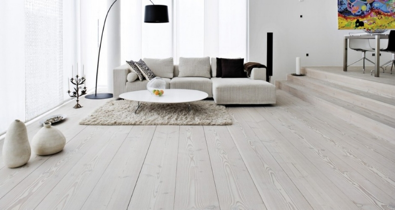 scandinavian design open floors