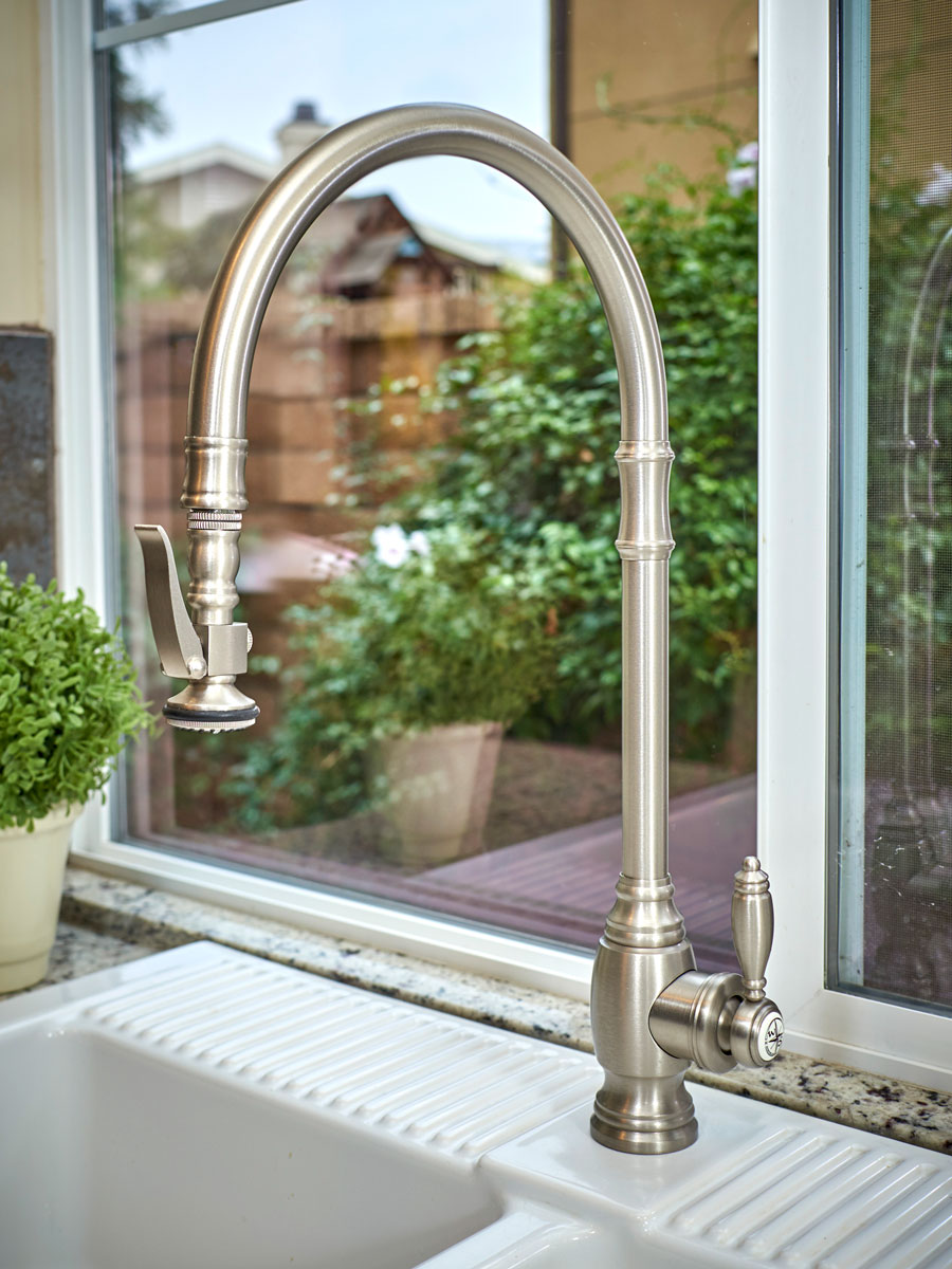 waterstone usa plp faucet in brushed nickel - the ultimate guide to luxury plumbing by the delight of design