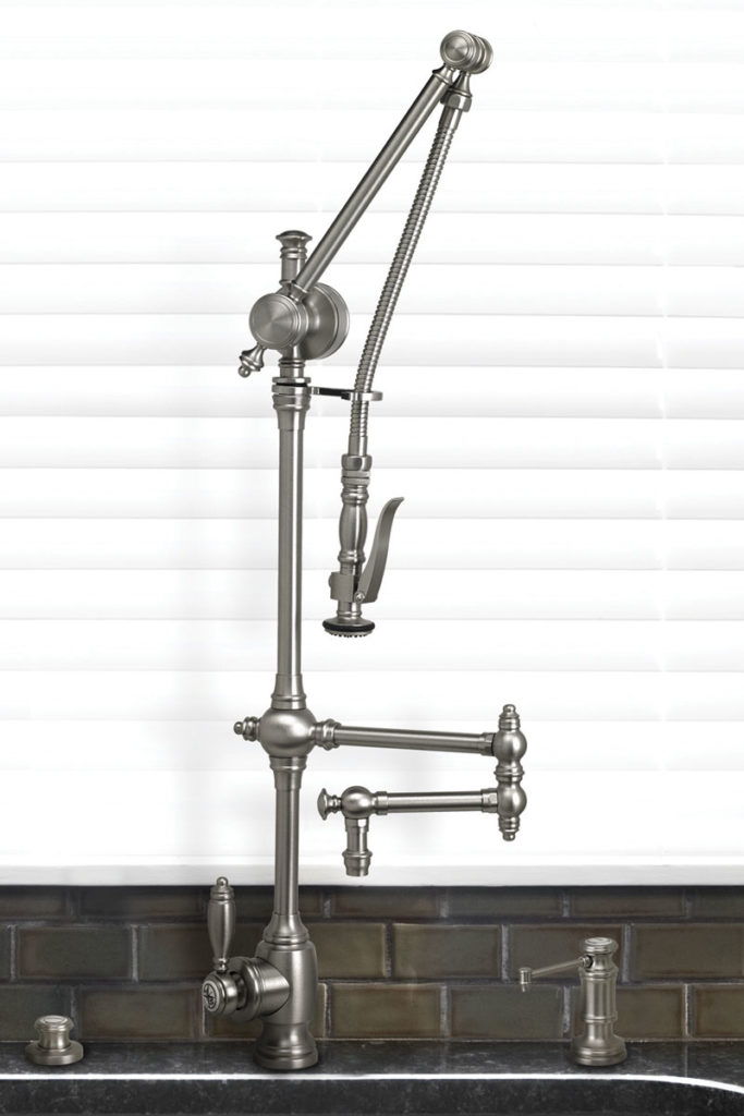 waterstone usa plp faucet in brushed nickel with swing out arm - the ultimate guide to luxury plumbing by the delight of design