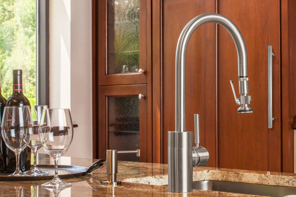 waterstone usa small plp kitchen faucet in brushed nickel - the ultimate guide to luxury plumbing by the delight of design