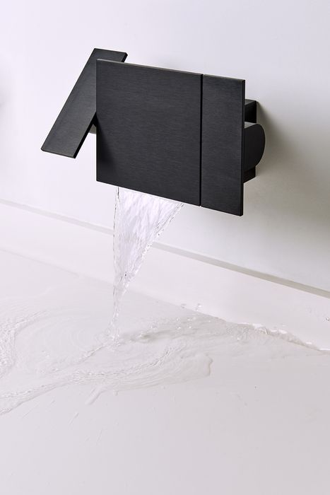 treemme black contemporary lever wall mount tub trim - the ultimate guide to luxury plumbing by the delight of design