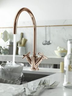 dornbracht tara kitchen faucet in rose gold - the ultimate guide to luxury plumbing by the delight of design