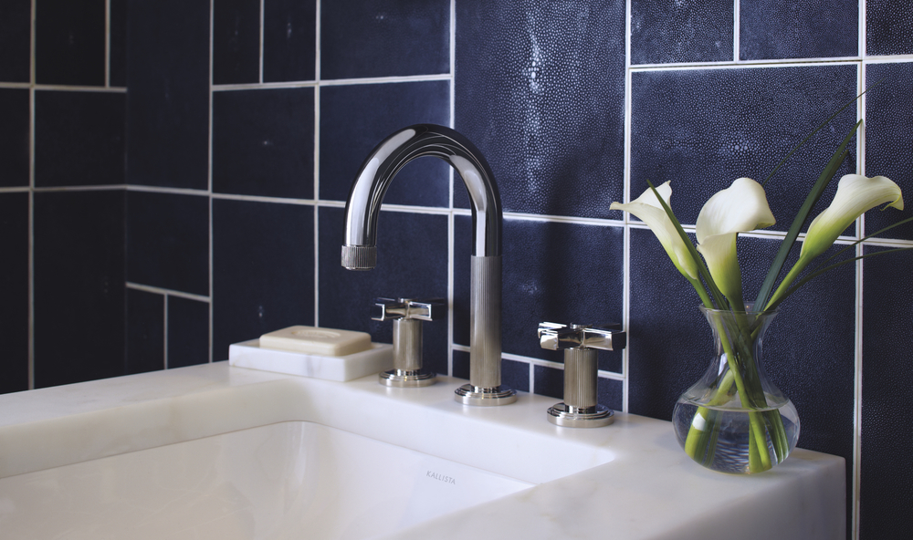 kallista vir stil faucet with cross handles and high spout in polished nickel - the ultimate guide to luxury plumbing by the delight of design