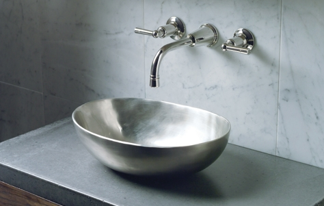 kallista pewter vessel sink - the ultimate guide to luxury plumbing by the delight of design