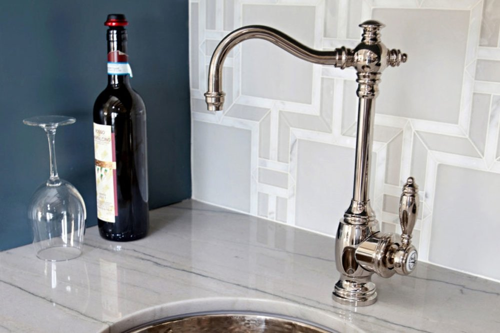 waterstone usa traditional bar faucet in polished nickel - the ultimate guide to luxury plumbing by the delight of design