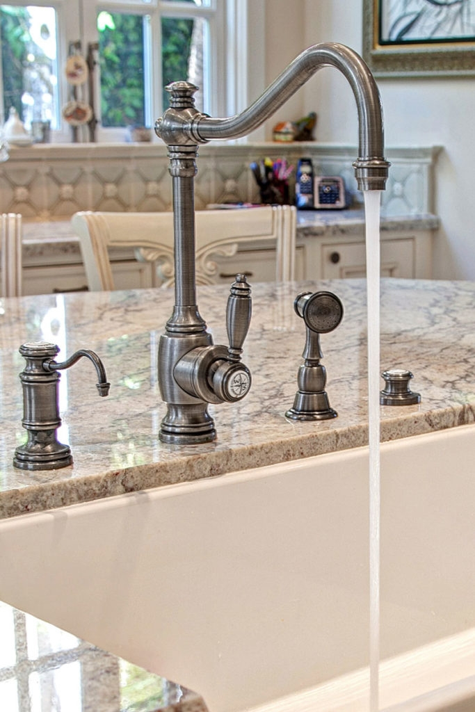 waterstone usa traditional faucet suite with sidespray in pewter - the ultimate guide to luxury plumbing by the delight of design