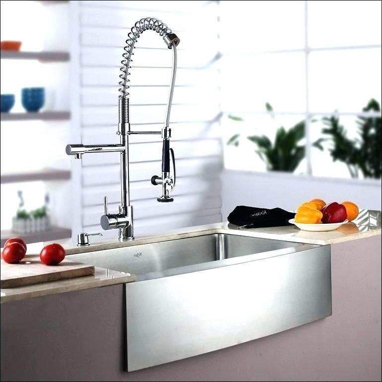 waterstone usa contemporary professional plp kitchen faucet with swing out arm in polished chrome - the ultimate guide to luxury plumbing by the delight of design