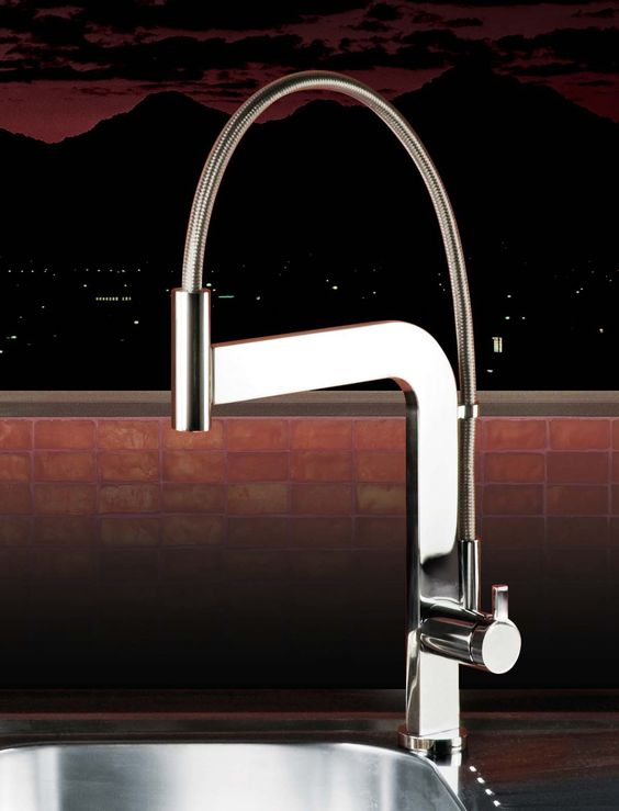 webert contemporary minimalist single hole kitchen faucet with pull out spray and flat profile in polished chrome - the ultimate guide to luxury plumbing by the delight of design