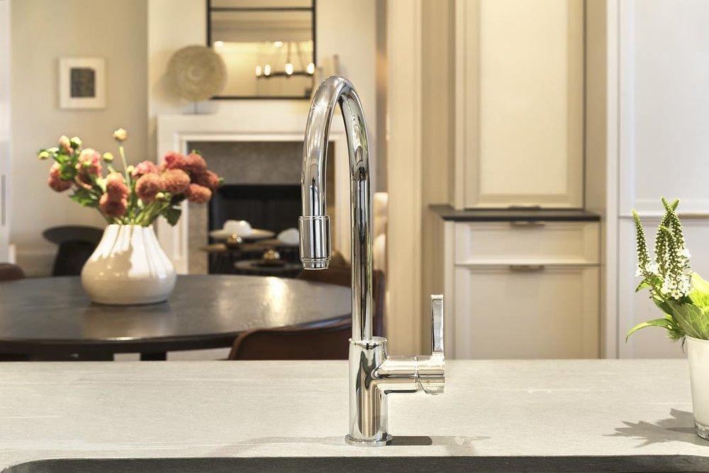lefroy brooks contemporary single hole pull down kitchen faucet with side lever handle in polished nickel - the ultimate guide to luxury plumbing by the delight of design