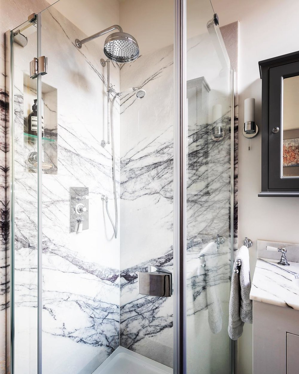lefroy brooks traditional shower trim with lever handles and rainhead in polished chrome - the ultimate guide to luxury plumbing by the delight of design