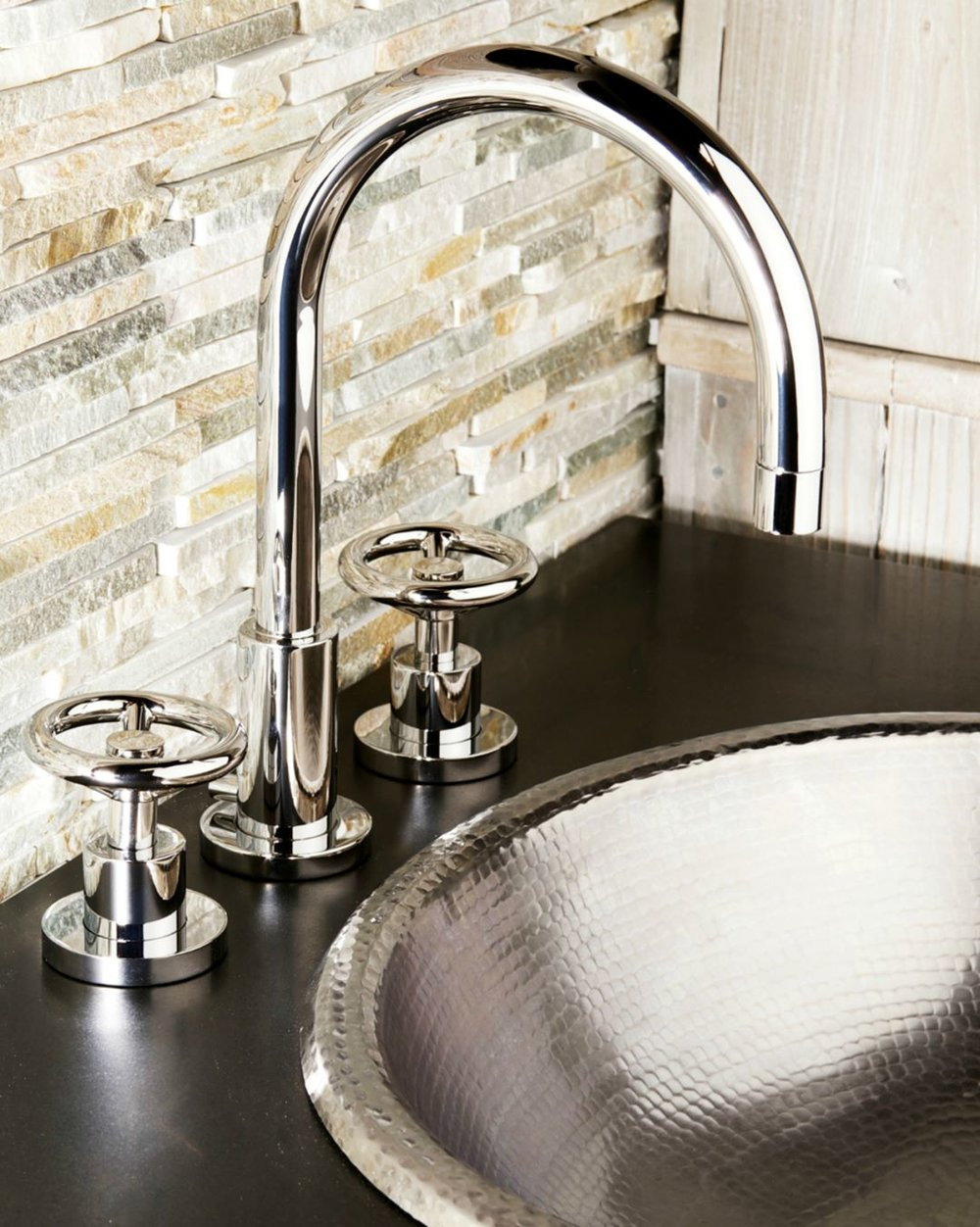 newport brass contemporary widespread bar faucet with wheel handles and gooseneck spout in polished nickel - the ultimate guide to luxury plumbing by the delight of design