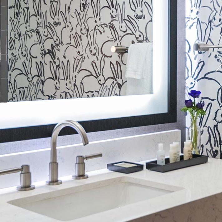 jaclo contemporary widespread lav faucet with gooseneck spout and lever handles in brushed nickel - the ultimate guide to luxury plumbing by the delight of design