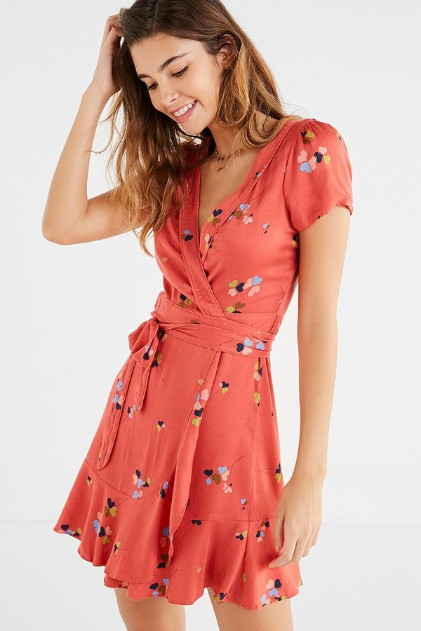urban wrap dress