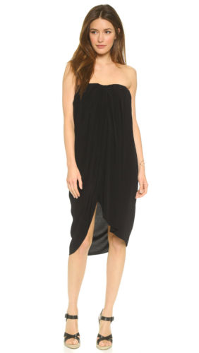 hatch maternity black strapless