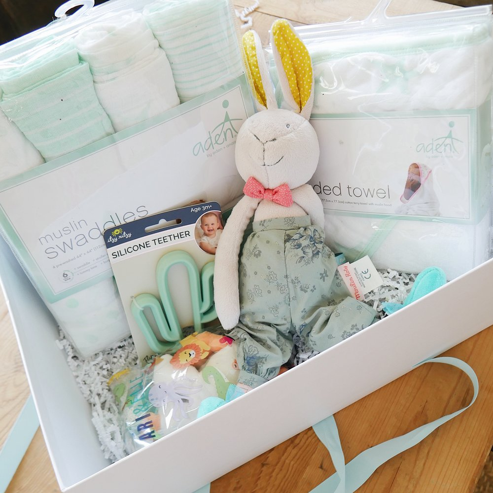 ari elle curated gift box baby & Curated Gift Boxes with Ari and Elle u2014 TheRosewaterEdit