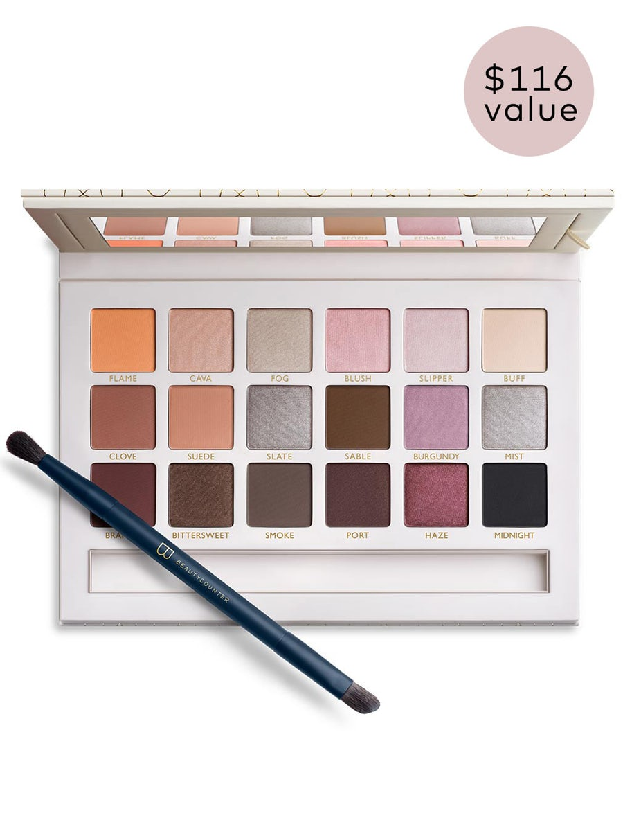 necessary neutrals eye palette