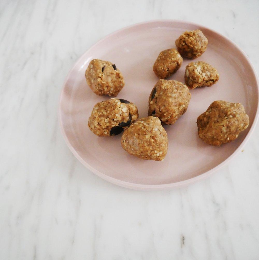 delicious protein balls