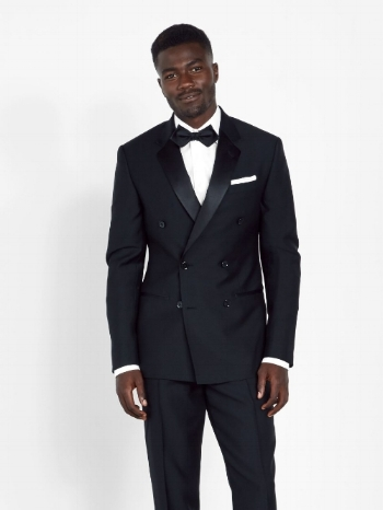 Double breasted tuxedo from The Black Tux