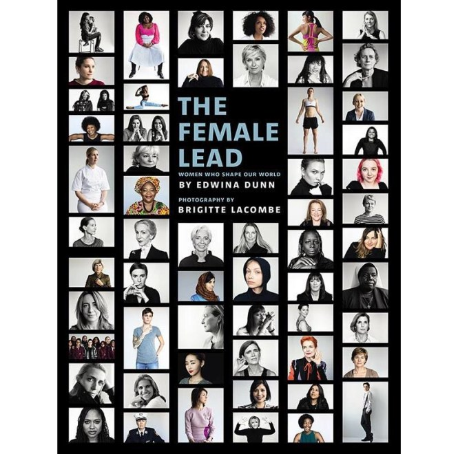 """THE FEMALE LEAD - After searching for a book I could gift to the ladies in my wedding party, I found this one profiling female leaders in different fields. Turns out, it's part of a nonprofit """"dedicated to making women's stories more visible and offering alternative role models to those ever-present in popular culture,"""" according to its website. What better way to make women's stories more visible than by literally putting them on people's coffee tables, the place where guests most often gather to chat?"""