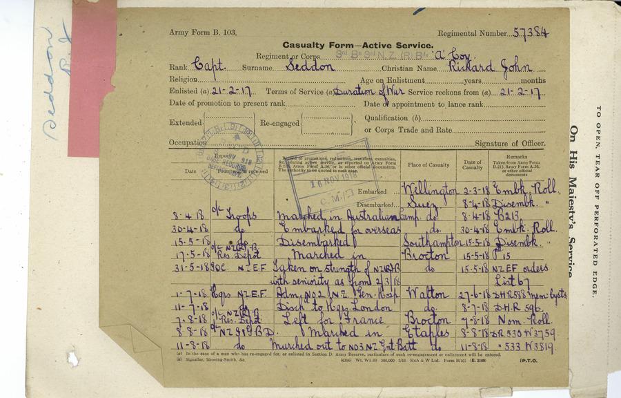 Seddon RJS Casualty Page 1
