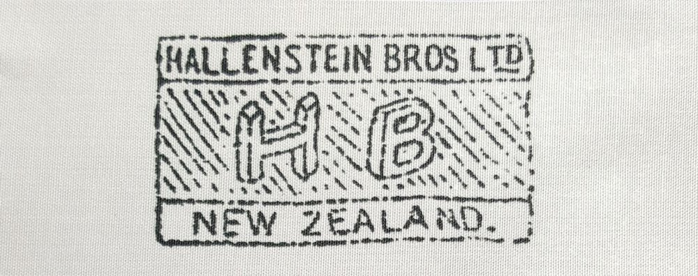 A Hallenstein Bros. Uniform