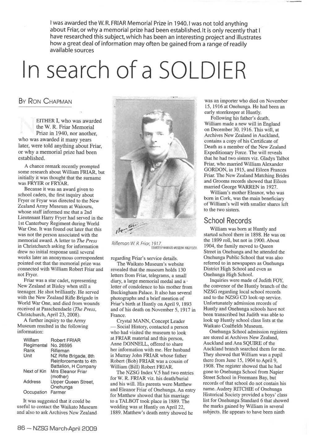 In search of a soldier_WR Friar pg1