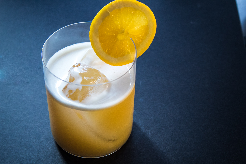 The Juicy Whiskey Sour