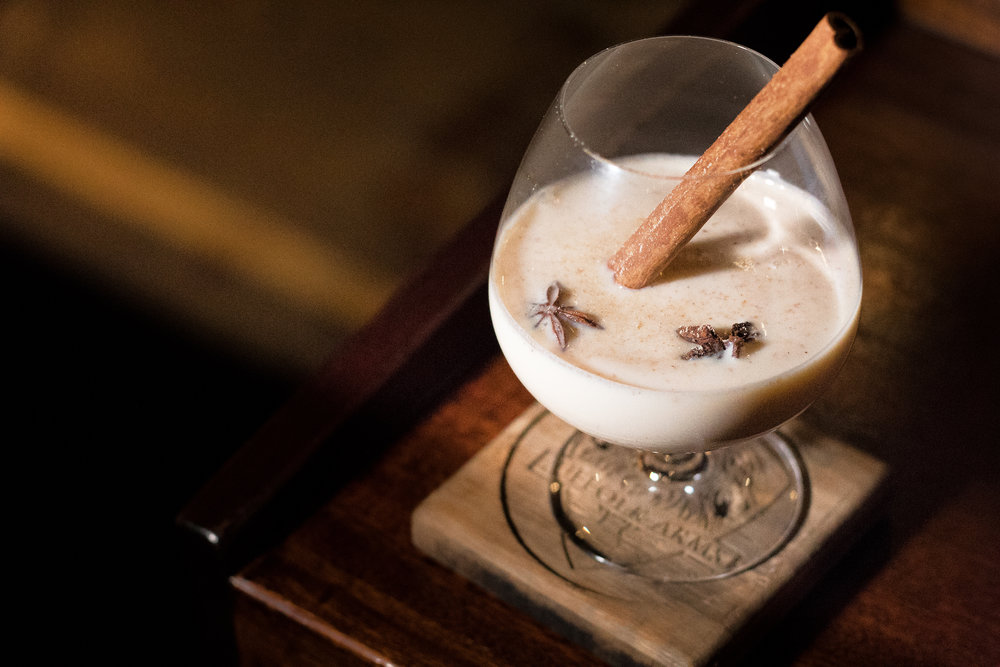Giuseppe's Coquito at Suffolk Arms, NYC,  Originally for Thirsty Mag