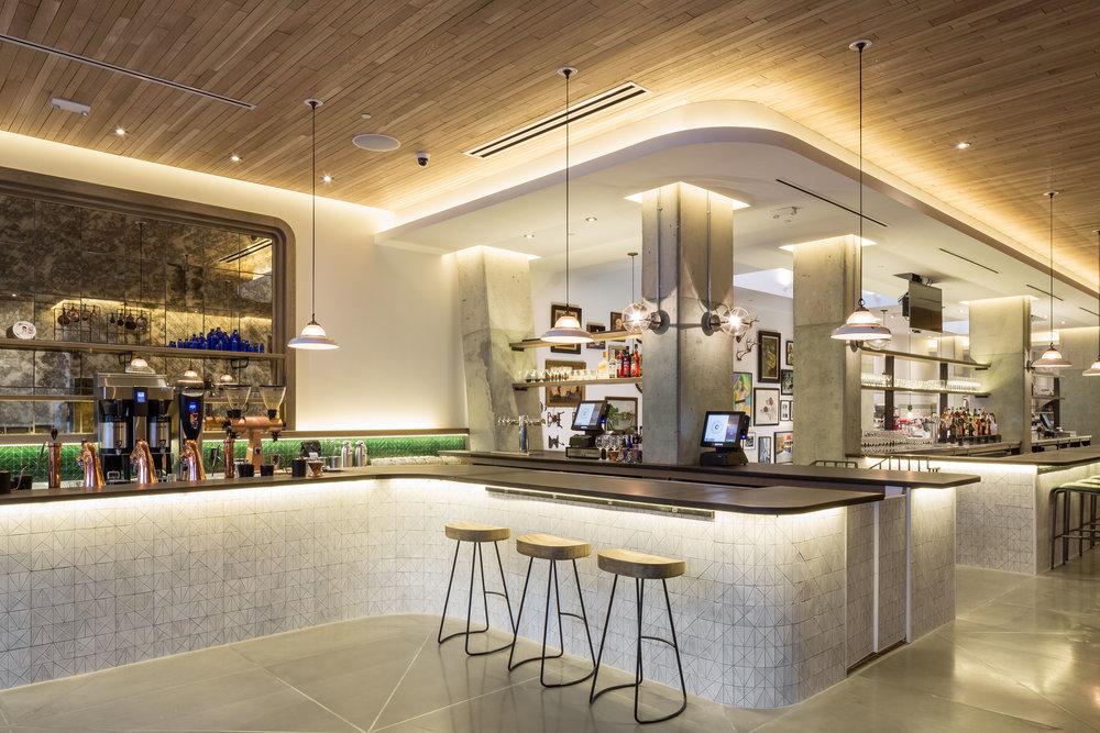 POD DC HOTEL Crimson Diner Restaurant Photography