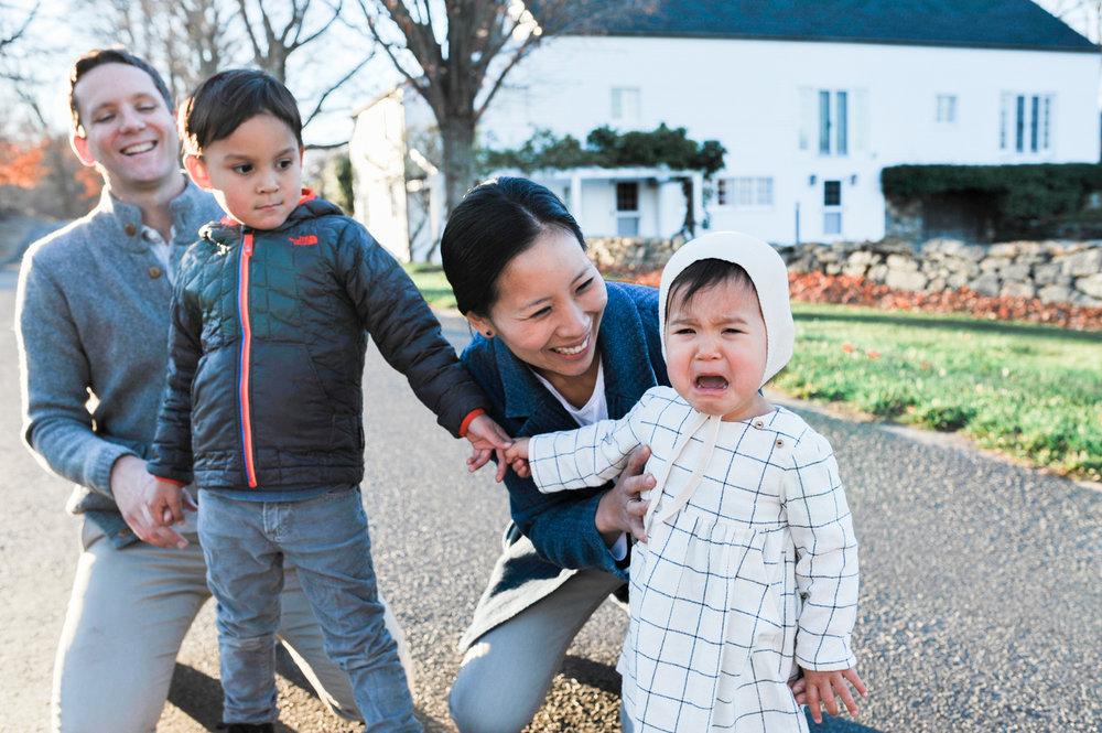 Lindsey Victoria Photography - Litchfield, Connecticut Lifestyle Family Photographer Litchfield County Hills golden hour White Flower Farm