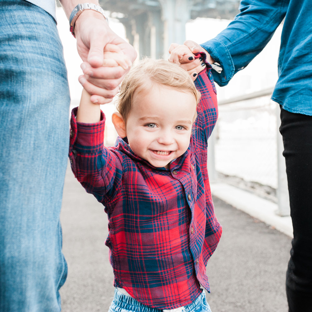 Lindsey Victoria Photography - Litchfield, Connecticut Lifestyle Family Photographer DUMBO Brooklyn Bridge Park Manhattan Bridge children's portrait