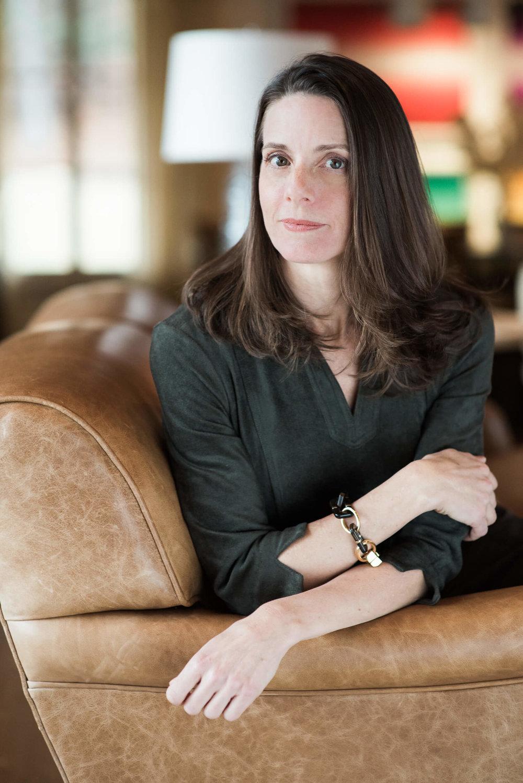 Branding headshot image of Karen Davis of Davis Raines Design based in Washington, CT photo by Lindsey Victoria Photography