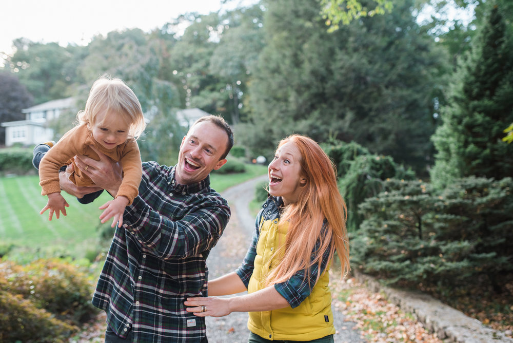 lifestyle family photo Washington Connecticut daddy flying toddler  by Lindsey Victoria Photography