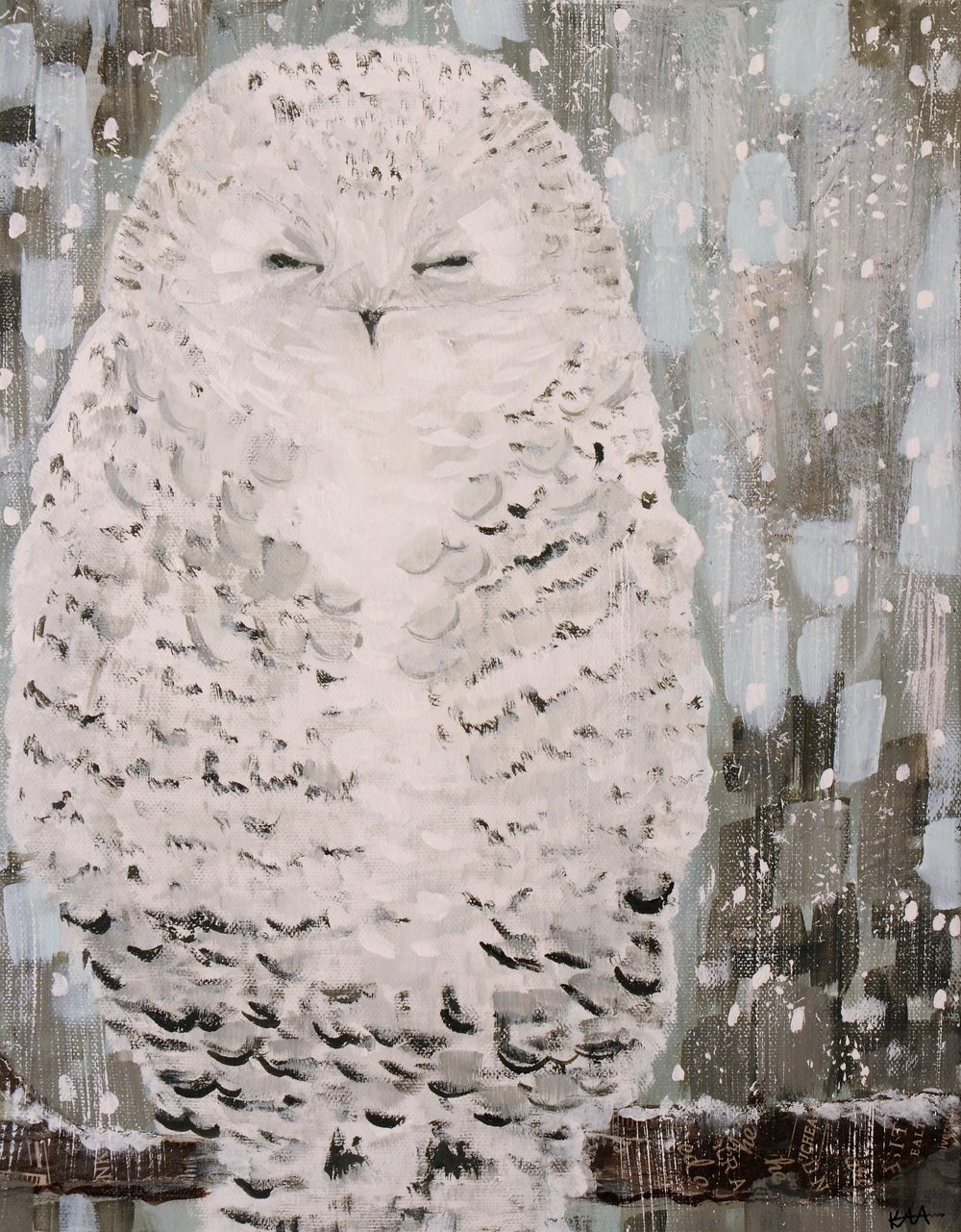 Snowy Owl-SOLD