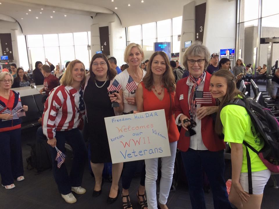 Welcoming veterans to Washington, DC