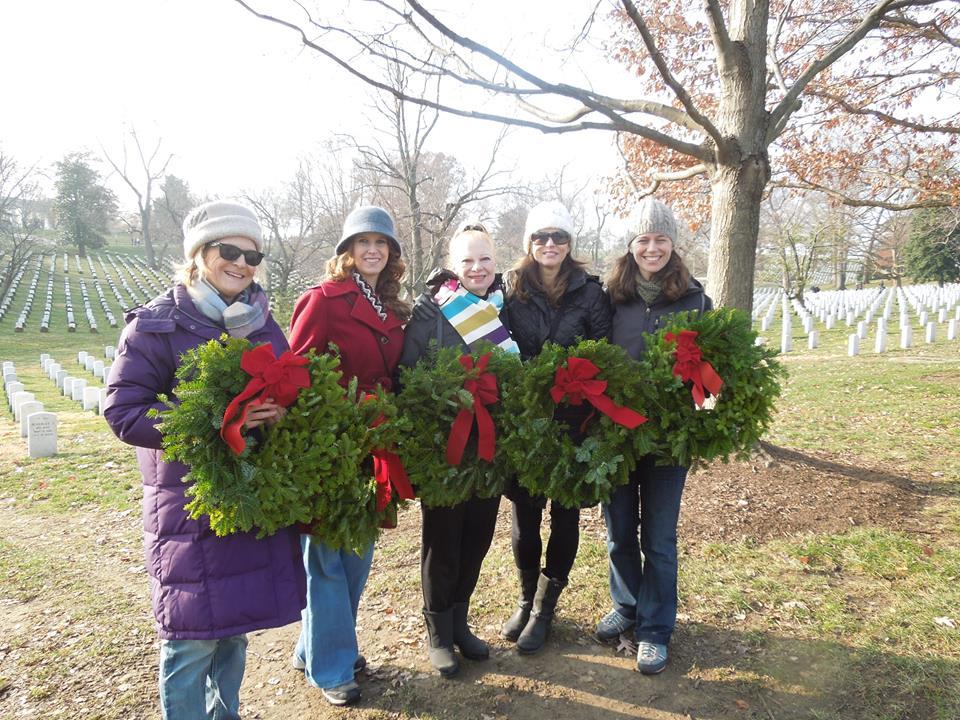 Wreaths Across America, Arlington National Cemetery