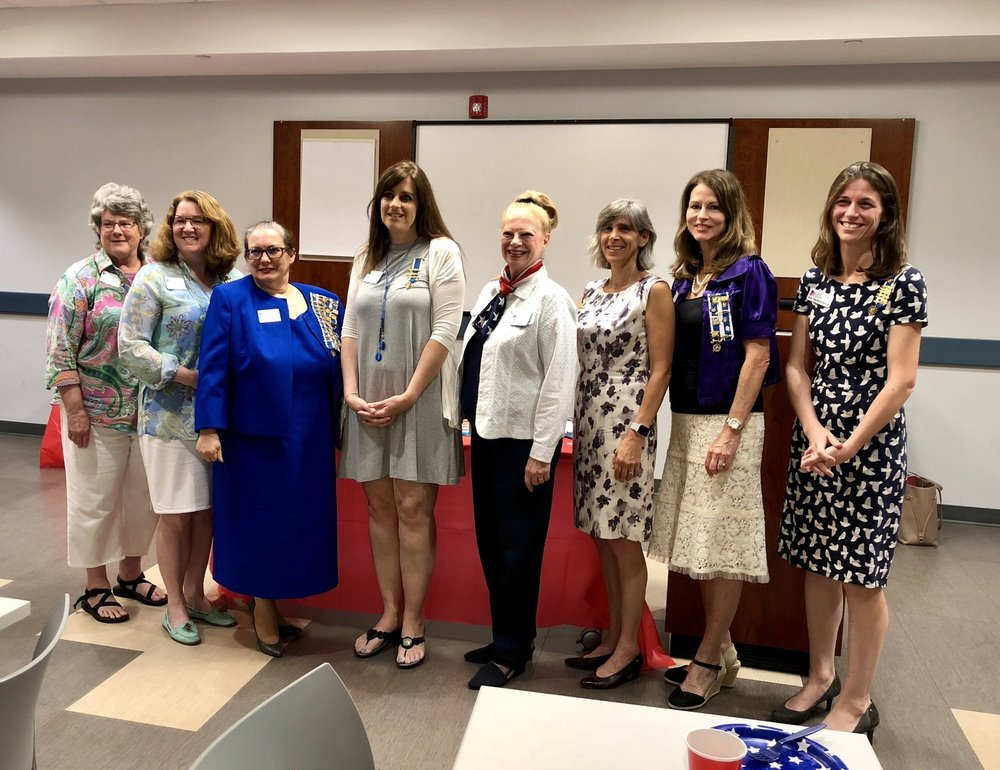 New chapter officers installation ceremony, June 2018