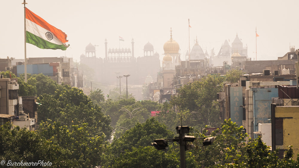 Delhi from Rooftop