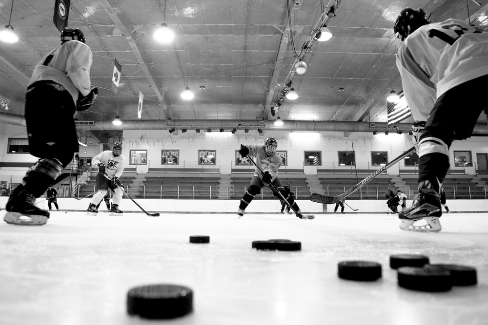 Kentucky Hockey is a club sport meaning they are not supported with athletic funds and players do not reap the academic and facilities resources as NCAA sanctioned scholarship athletes do. Most players take a full course load of classes while training and working part-time jobs on the side.