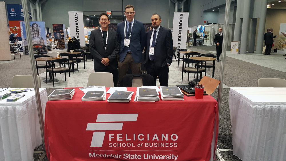 Left to Right:   Anthony Palazzo  Pro-Bono Consultant   Kirill Ivanov  Student Feliciano School of Business   Dr. Joseph Nicholson Phd.  Pro-Bono Consultant.