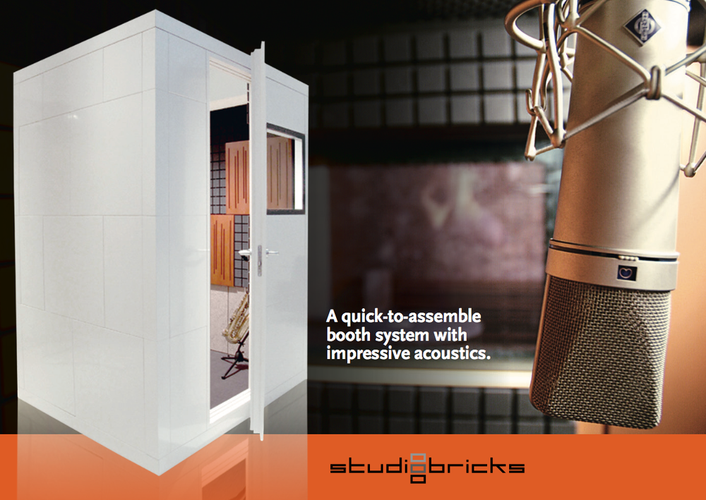 STUDIOBRICKS - STUDIOBRICKS IS AN INNOVATIVE ACOUSTIC DESIGN BOOTHS COMPANY, MEETING THE HIGHEST LEVEL IN ACOUSTIC SOLUTIONS, EASY ASSEMBLY, HIGH DESIGN AND EASY ADAPTION.
