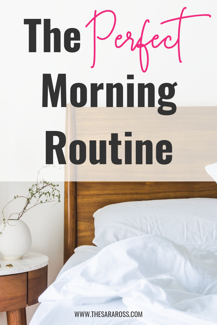 The PERFECT morning routine! Create the best morning ever with a step by step guide. Your morning, your way. #dailyroutine #morningroutineideas #routineformoms