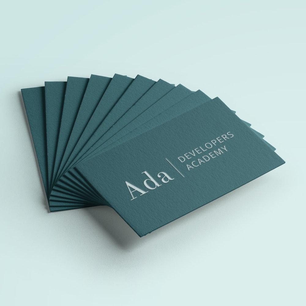 – Ada Developers Academy –     Branding, Website