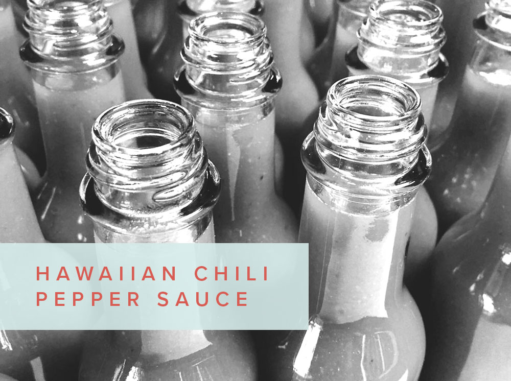 Hawaiian Chili Pepper Sauce