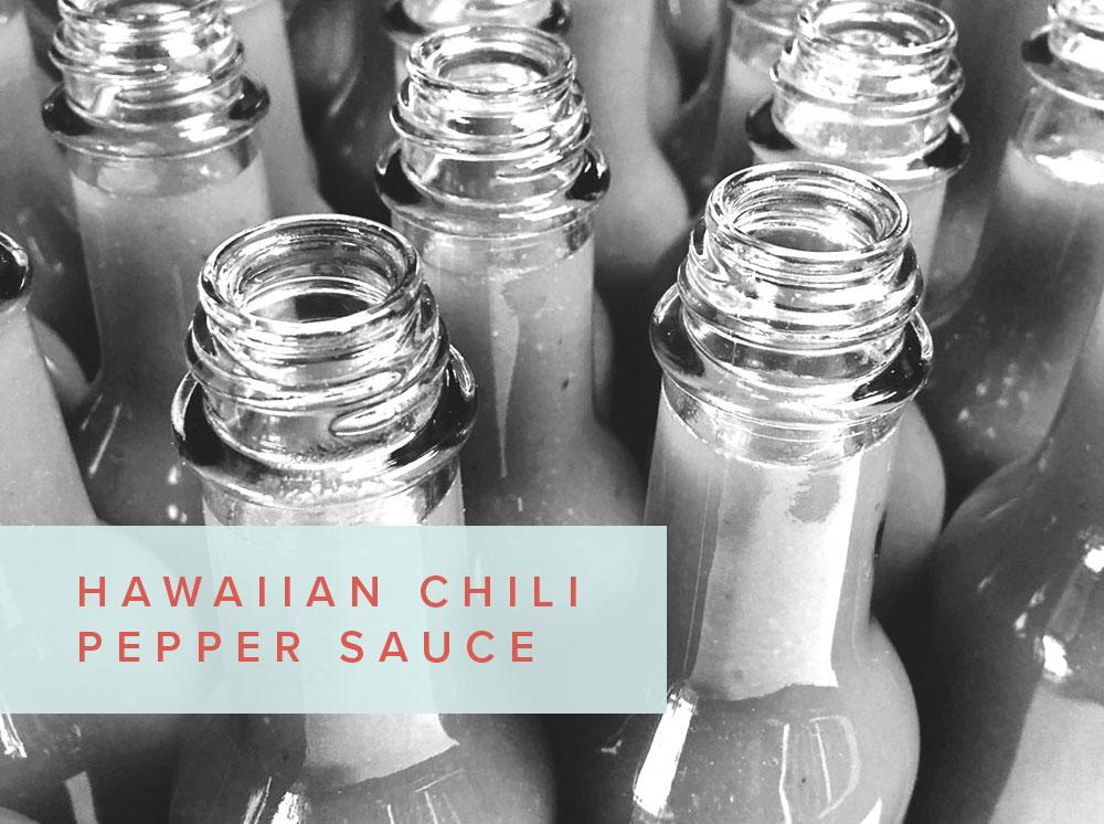 Hawaiian Chili Pepper Sauce