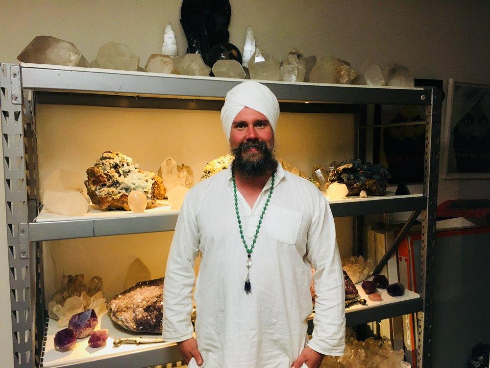Siri Gopal Singh - Healer: Gong healing, massage, crystals and so much more.satnamyall@gmail.com